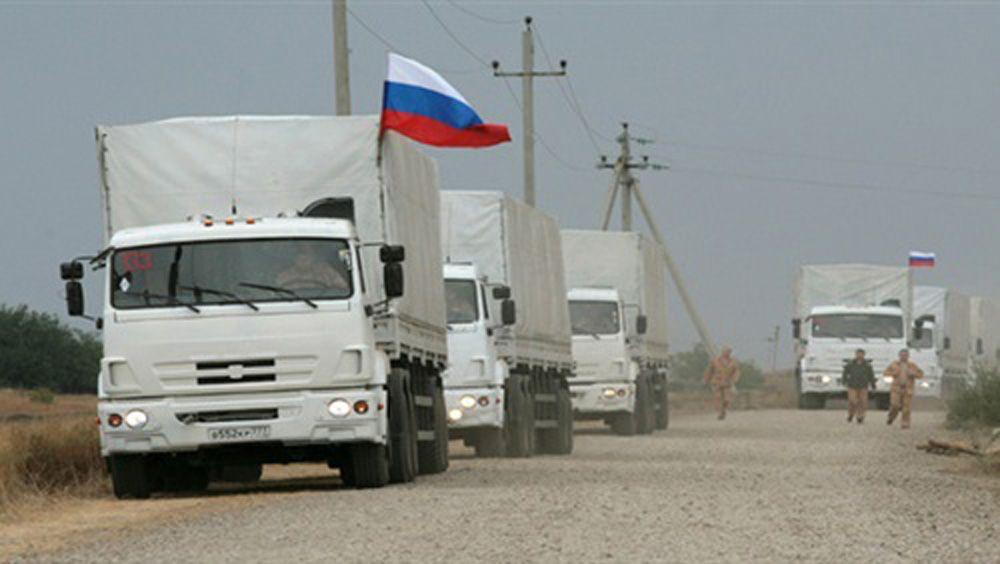 قافلة مساعدات روسية تصل غزة