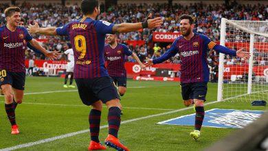 برشلونة يفوز على إشبيلية ويستعيد توازنه بعد كبوة ميلان