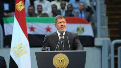 مزج مرسي بين العربية والإنجليزية في خطابه بألمانيا يثير سخرية مغردين