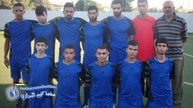 فوز نادي الخليل على نادي المهاجرون بنتيجة 2 - 1