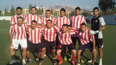 فوز نادي الاشبال على نادي فلسطين بنتيجة 7 - 2