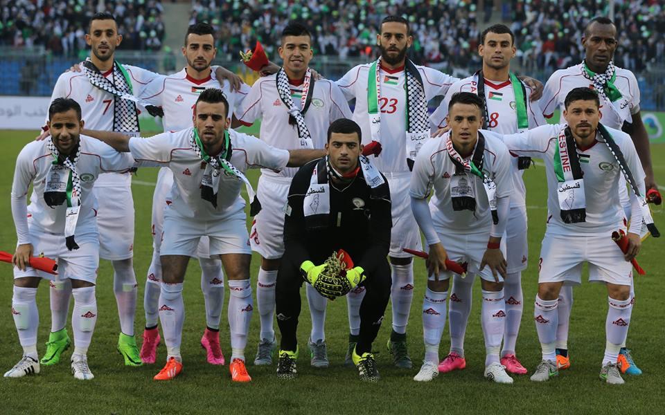 تشكيلة منتخب فلسطين الوطني لعام 2013