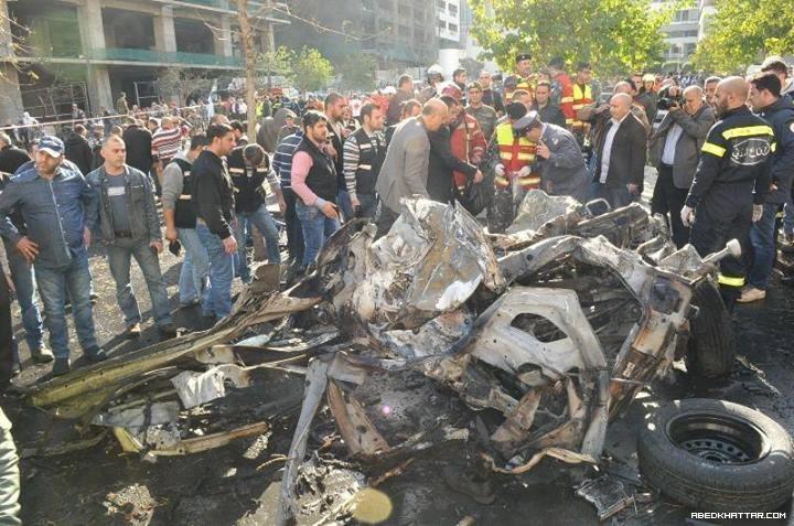 بالصور والفيديو.. استشهاد الوزير محمد شطح في انفجار استهدفه في بيروت