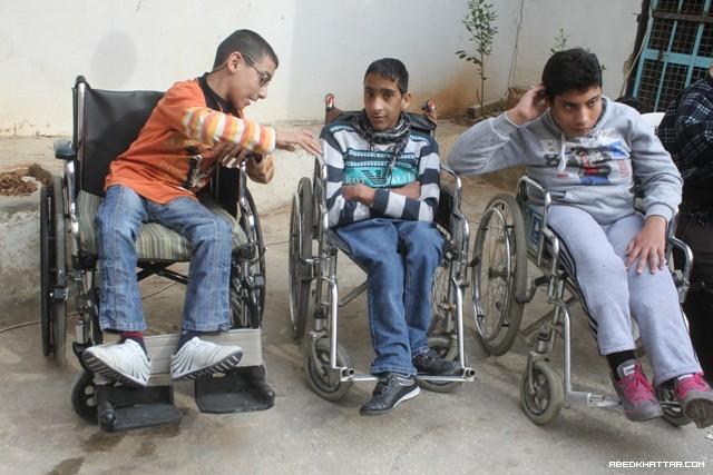 حفل تكريمي للاطفال ذوي الاحتياجات الخاصة في مخيم عين الحلوة