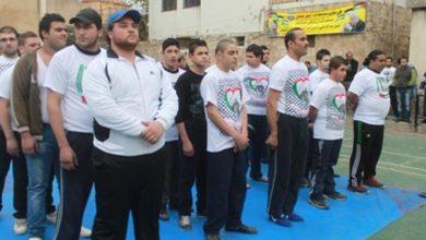 بطولة المصارعة الرومانية في ذكرى الانطلاقة حركة فتح 49 في صيدا