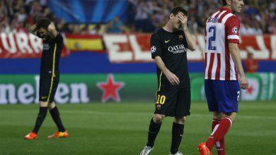 اتلتيكو مدريد ينقل موقعة دوري الأبطال ضد برشلونة إلى ملعبه