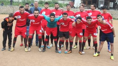 نهاوند يهزم الاصلاح صيدا ضمن مباريات الدوري في مخيم عين الحلوة