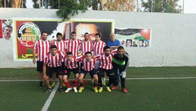 فاز نادي العودة على نادي فلسطين بنتيجة 3 - 2