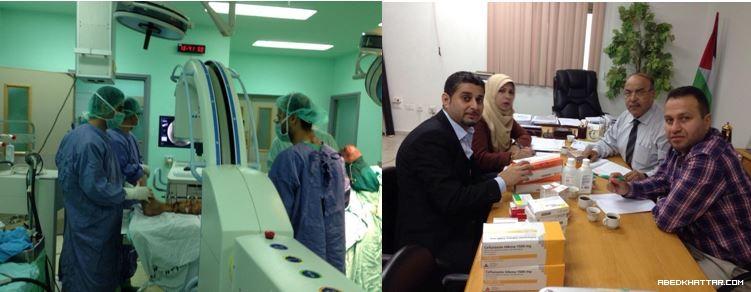 فريق طبي متخصص قَدم من جمهورية المانيا الاتحادية الى قطاع غزة