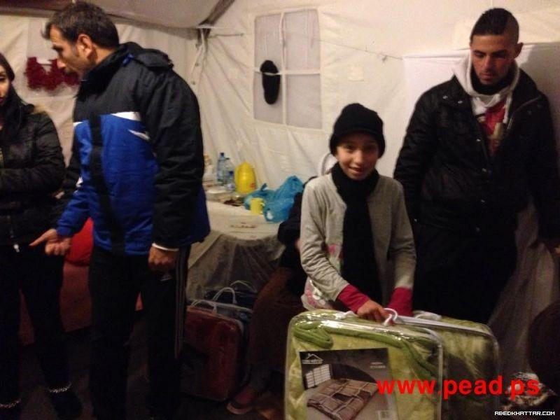 قبرص || حملة إغاثة للفلسطينيين اللاجئين في مخيم الإيواء المؤقت