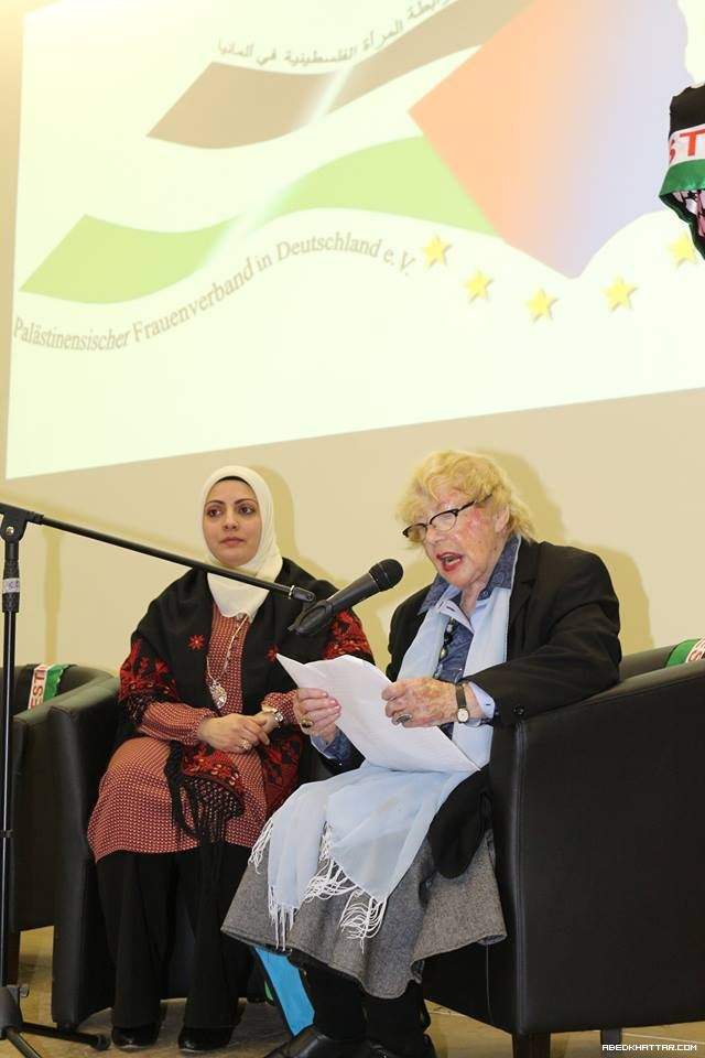 رابطة المرأة الفلسطينية في ألمانيا.. ويوم متميز في برلين...!!