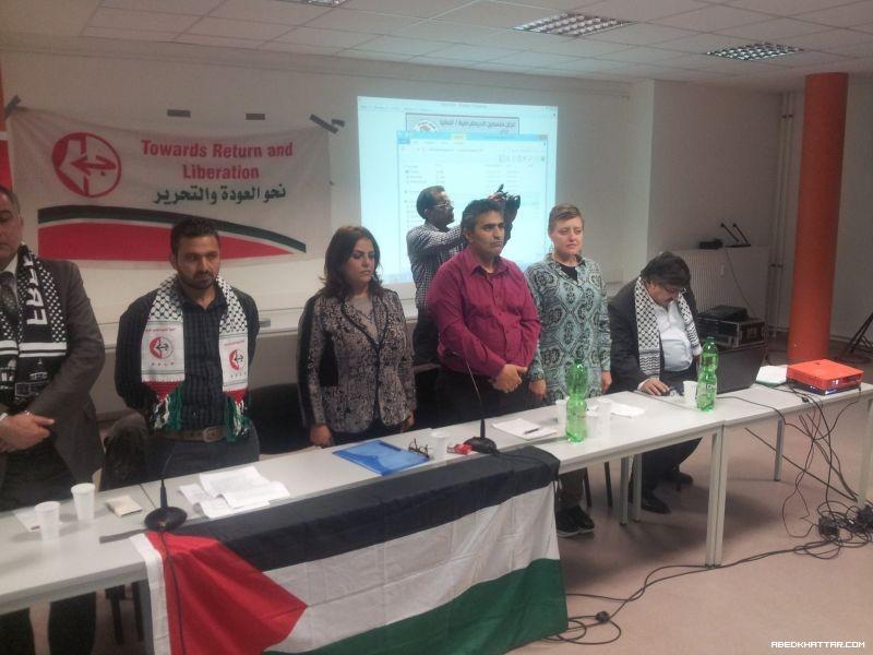لجان فلسطين الديمقراطية/ المانيا,و انصار الجبهة الشعبية لتحرير فلسطين. تحي يوم الاسير الفلسطيني في برلين