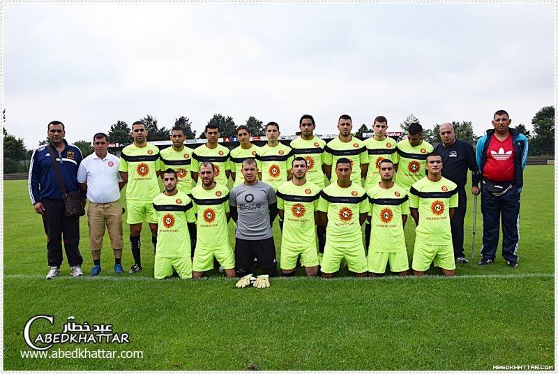 نادي النهضة الناصرة يفوز بالمركز الثاني بمشاركة 6 اندية رياضية لكرة القدم في مدينة نينبورغ / المانيا