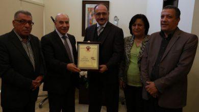 الديمقراطية تلتقي رئيس مجلس ادارة قناة الميادين الفضائية غسان بن جدو