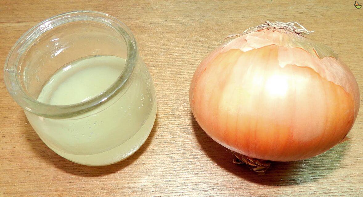 عصير البصل لعلاج مشاكل الشعر
