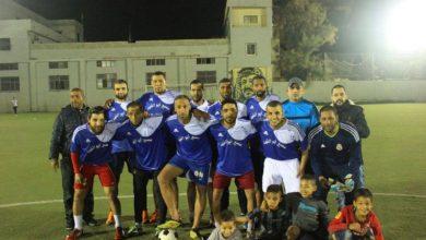 فوز نادي القدس على نادي شبيبة فلسطين على كاس ذكرى الشهيد علي عيادي في مخيم البداوي