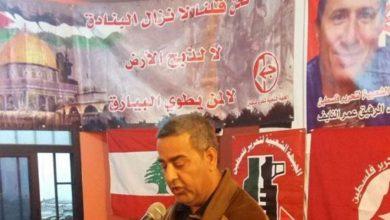 أبو جابر || جريمة اغتيال الرفيق الشهيد المناضل عمر النايف لن تمر من دون رد