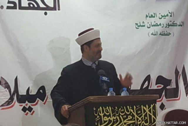 الأمين العام لحركة التوحيد الاسلامي فضيلة الشيخ بلال سعيد شعبان