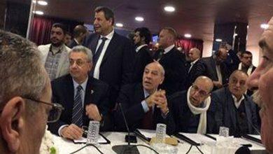 علي فيصل خلال اجتماع اللجنة التحضيرية للمجلس الوطني