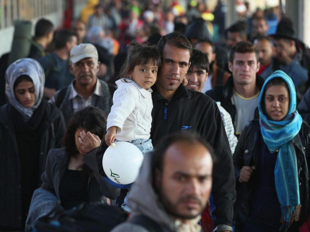 المهاجرين إلى ألمانيا