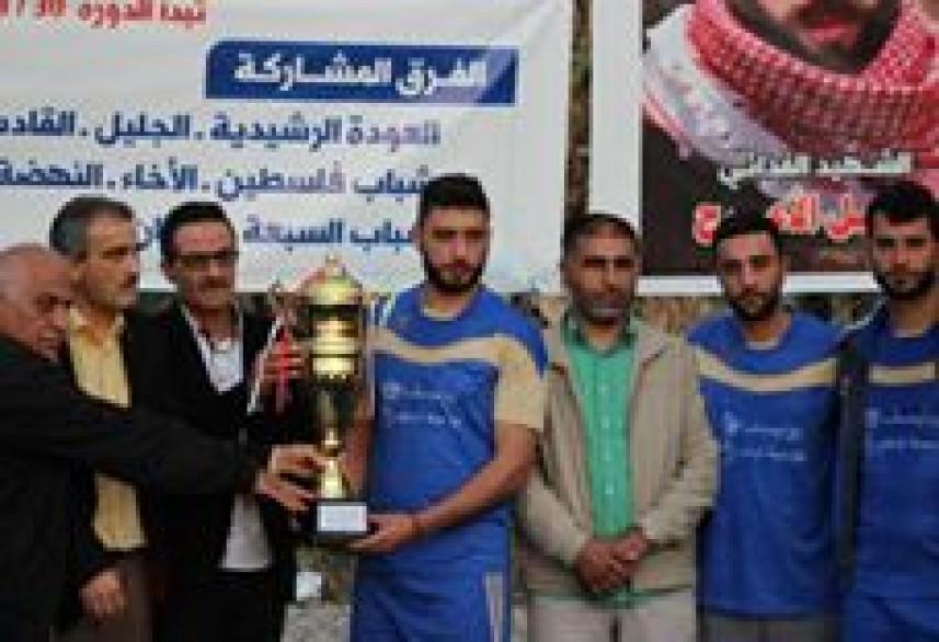 العودة بطلاً لدورة الشهيد باسل الأعرج لكرة القدم