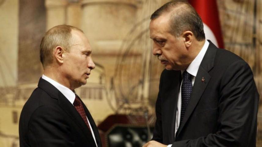 أردوغان وبوتين يؤكدان أهمية استمرار آلية أستانة ومباحثات جنيف حول سوريا