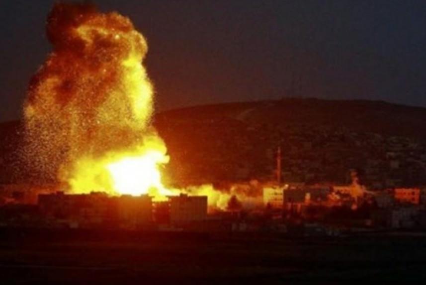 طائرات العدو تقصف موقعاً للجيش السوري بالقنيطرة