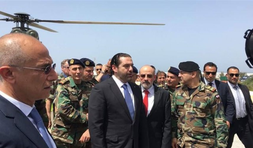 الحريري يستنجد بالأمم المتحدة لهدنة دائمة مع إسرائيل