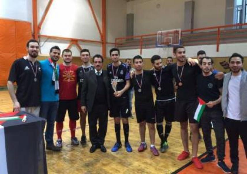 دعماً لإضراب الأسرى... الطلبة الفلسطينيون في جامعات سلوفاكيا ينظمون بطولة لكرة القدم