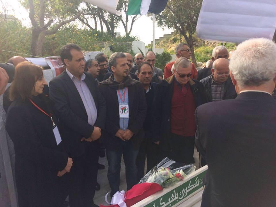 جبهة التحرير الفلسطينية تلتقي الاحزاب التونسية والعربية