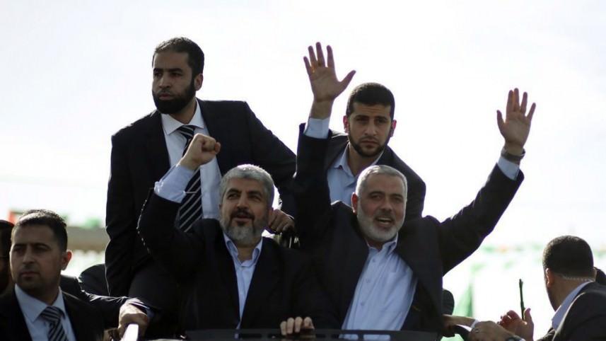 مشعل يعلن فوز هنية برئاسة المكتب السياسي لحماس