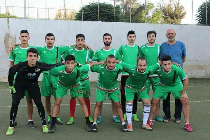 مباراة المركز الثالث فاز نادي الخليل على نادي القدس