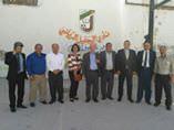 الشباب والرياضة تزور نادي الجليل الرياضي الأردني