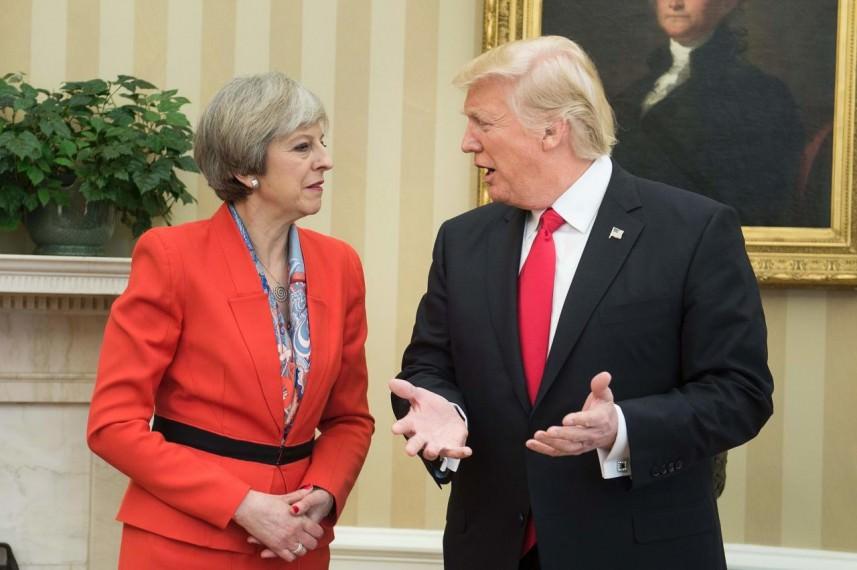 تيريزا ماي تمتنع عن استقبال ترامب في لندن والسبب؟