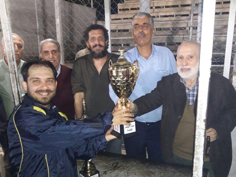 القدس يفوز على الهلال في نهائي دورة الوفاء للشهداء || نبيل السعيد وابو وسام غنيم