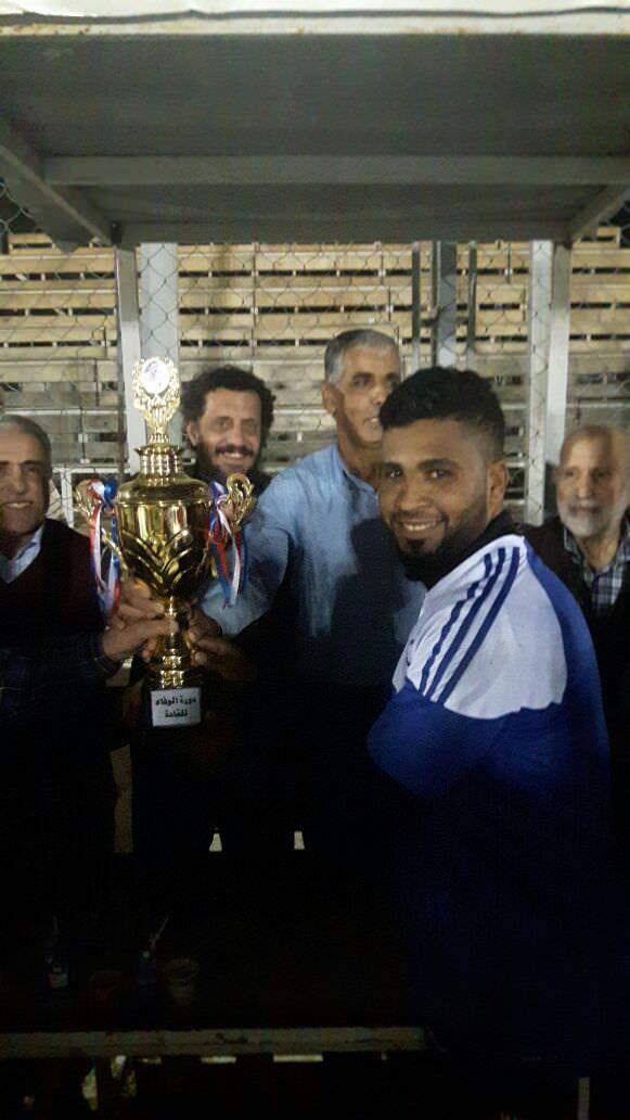 دورة الوفاء للشهداء .. نبيل السعيد وابو وسام غنيم