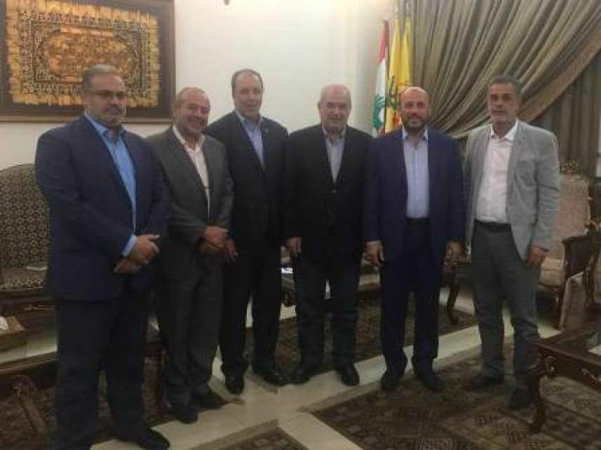 الوفاء للمقاومة تلتقي وفداً من حماس