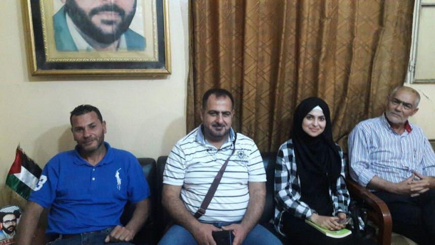موعد يستقبل وفد مجموعة تحسين أوضاع مخيم البداوي