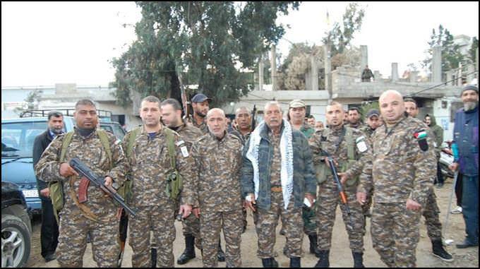 بيان صادر عن القوة الامنية المشتركة في مخيم البداوي