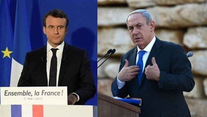 الرئيس الفرنسي لنتنياهو    نقل السفارة أدى لقتل الفلسطينيين
