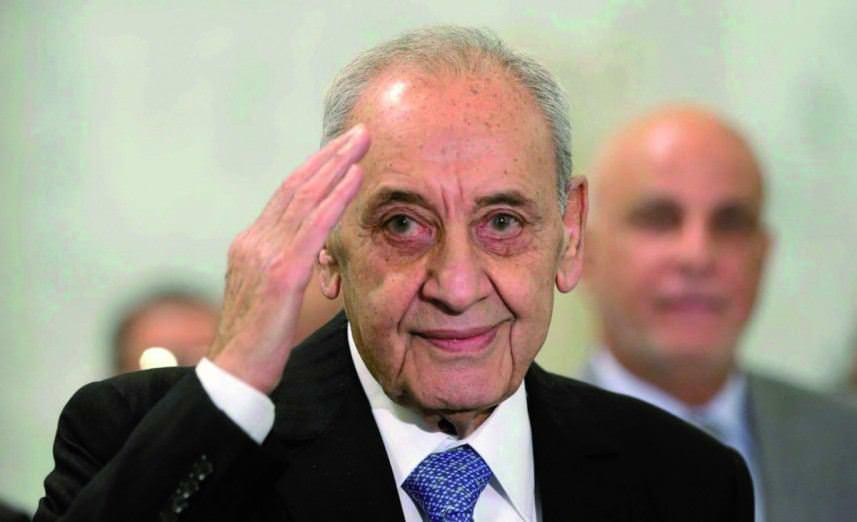 بري || الجانب الأمريكي أبلغ لبنان باستعداد إسرائيل للتفاوض على ترسيم الحدود البرية والبحرية