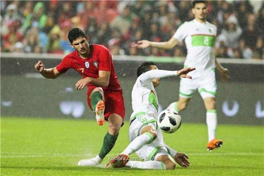 البرتغال تهزم الجزائر استعداداً للمونديال