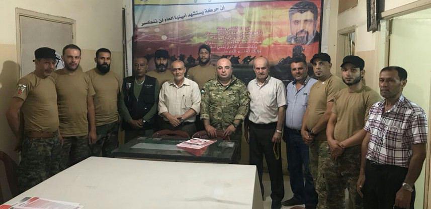 حركة الجهاد تلتقي ضباطاً من الأمنية المشتركة في البداوي