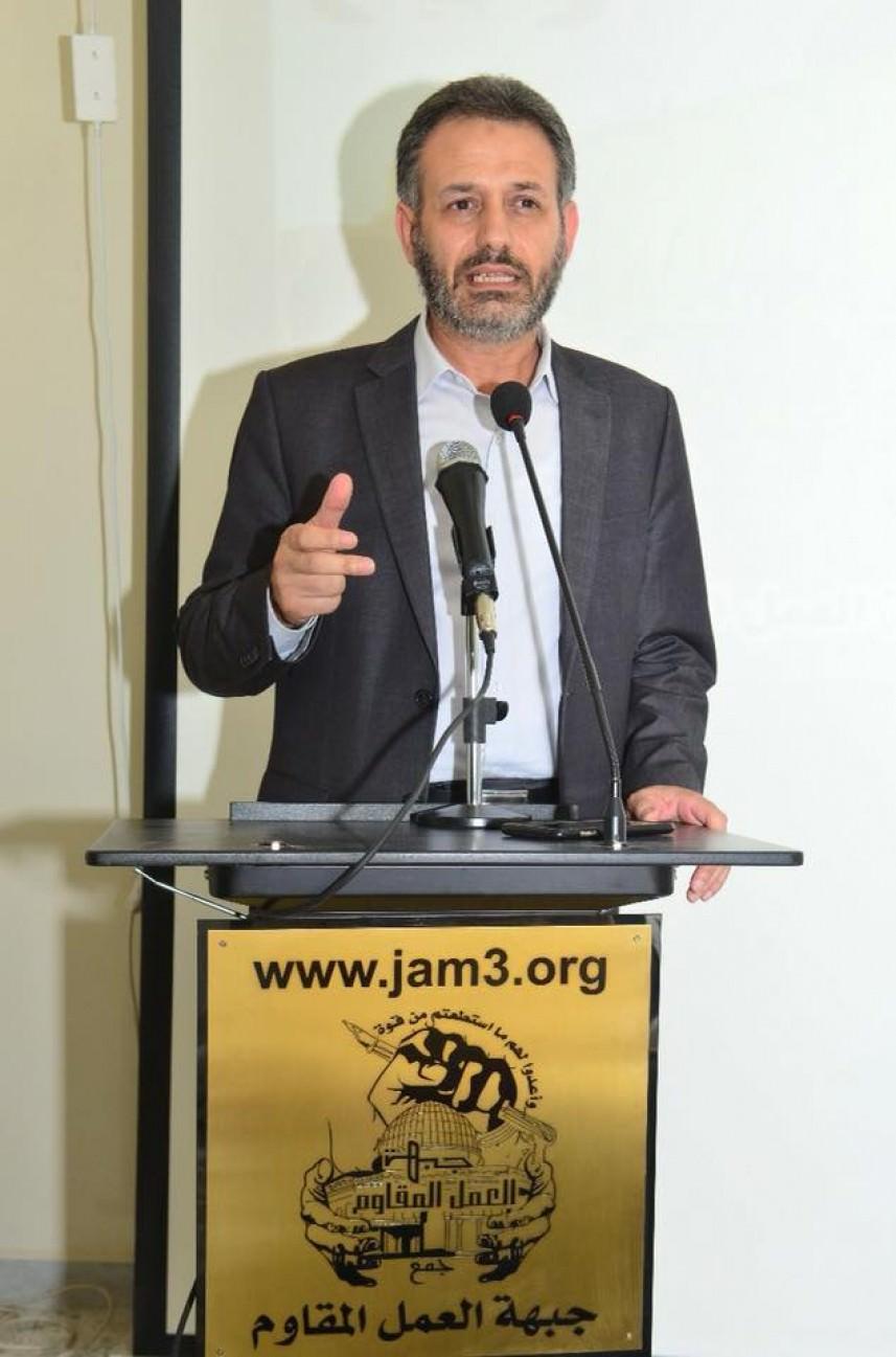 ممثل الجهاد الإسلامي في لبنان إحسان عطايا