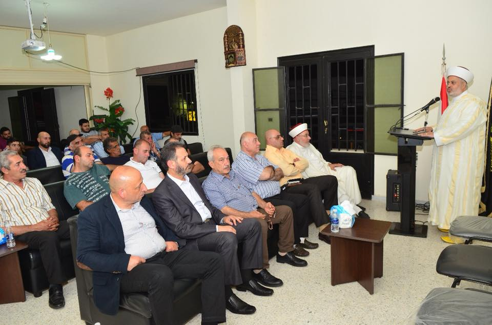 منسق عام جبهة العمل الإسلامي ورئيس جبهة العمل المقاوم، الشيخ زهير الجعيد
