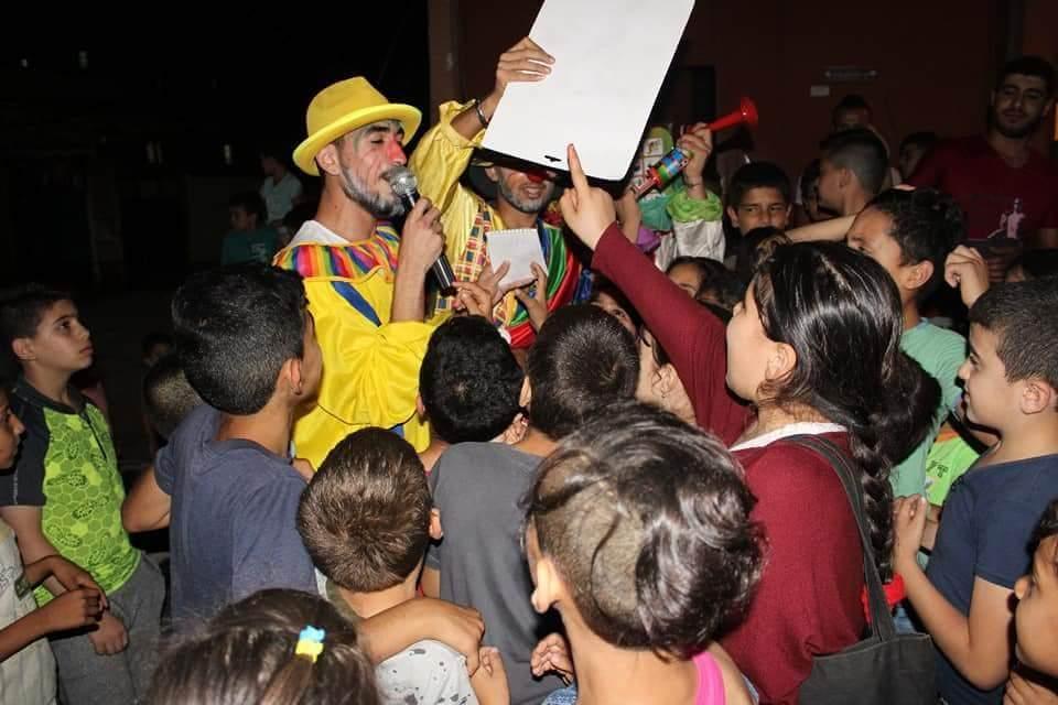 كرنفال { إزرع بسمة } للأطفال في مخيم نهر البارد