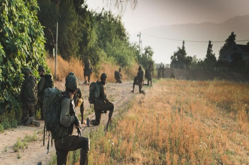 الجيش الصهيوني يجري مناورة مفاجئة في الجليل المحتل