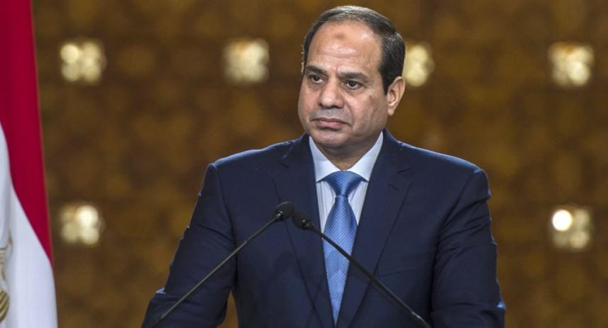 السيسي || مصر تدعم كافة المبادرات الدولية لتسوية عادلة وشاملة للقضية الفلسطينية