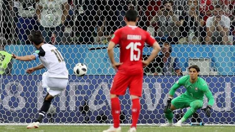 سويسرا تتعادل مع كوستاريكا وتبلغ دور الـ 16 من مونديال روسيا