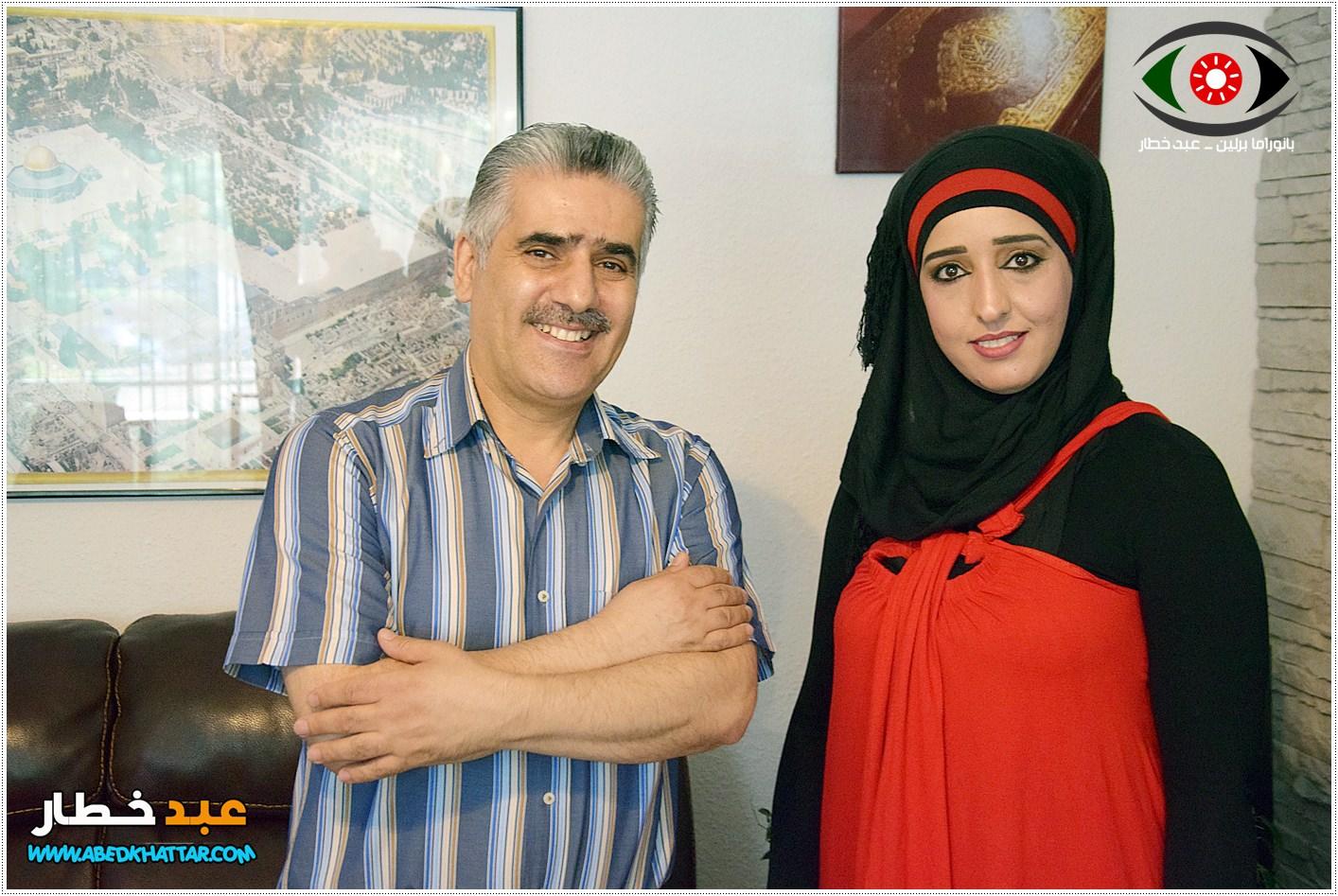 حلقة جديدة من برنامج بانوراما برلين مع الفنان السوري عبدالقادر أصلي في برلين